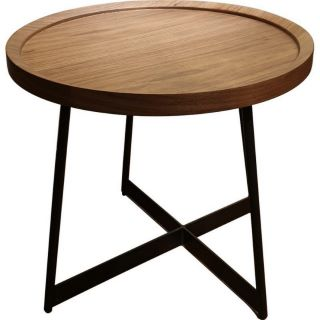 Brc6588c Solid Wooden End Table