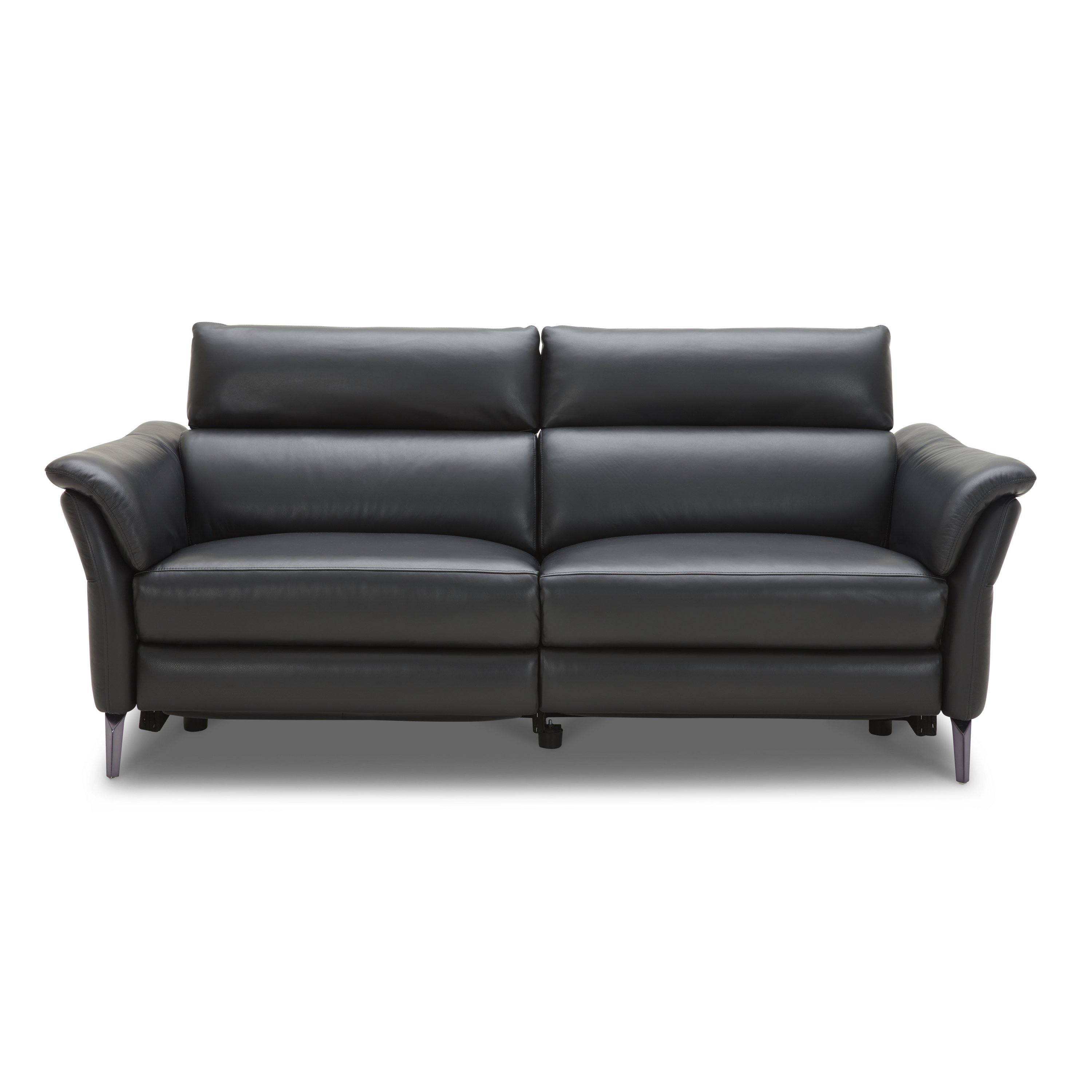 Km 5002 Incliner Leather Sofa Absolute Bedding