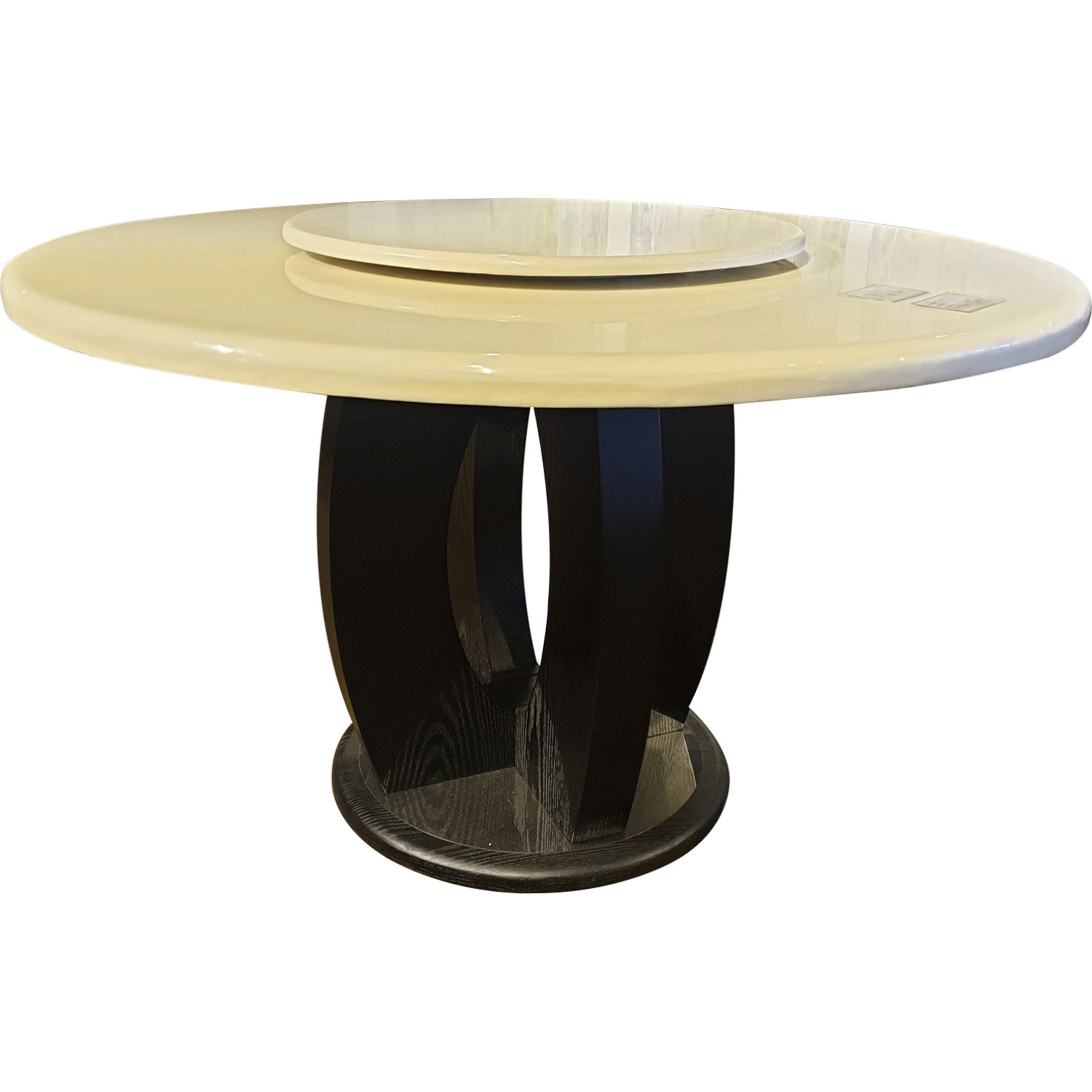 Ds101 Round Marble Dining Table Absolute Bedding